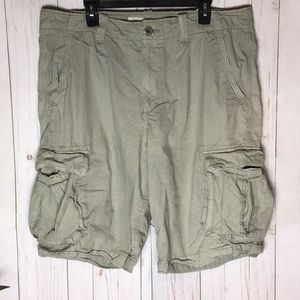 American Eagle Outfitters Khaki Cargo Shorts